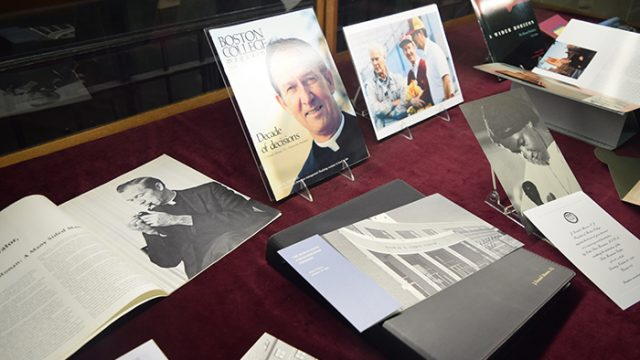 BC Libraries Honor Monan's Legacy