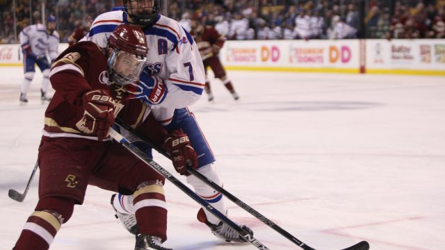 Notebook: Busted 5-on-3 and Second-Period Defense Plague BC in Hockey East Final