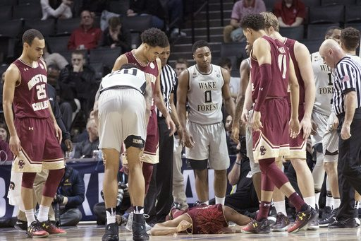Bowman Injures Knee in Season-Ending ACC Tournament Loss to Wake Forest
