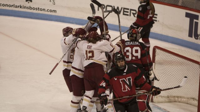 Anastos' Overtime Heroics Cap off Hockey East Championship