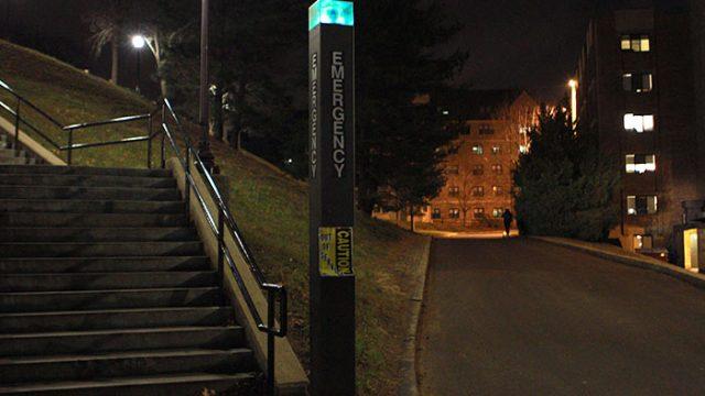 Survey Reveals 31 Blue Lights Broken Across Three BC Campuses