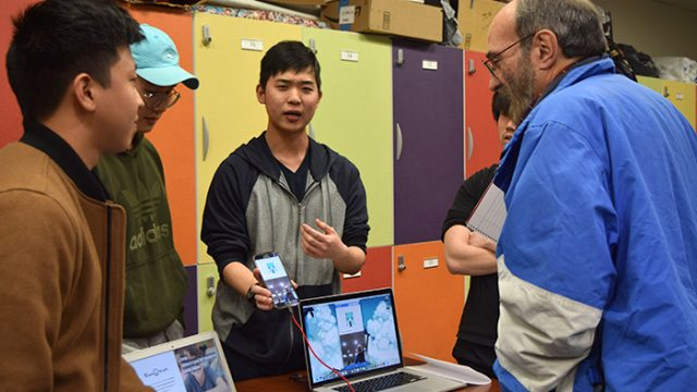 At First Hack the Heights, Students Showcase Innovation