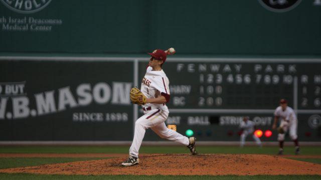 Rain Halts Beanpot Final Against Harvard in Fifth Inning