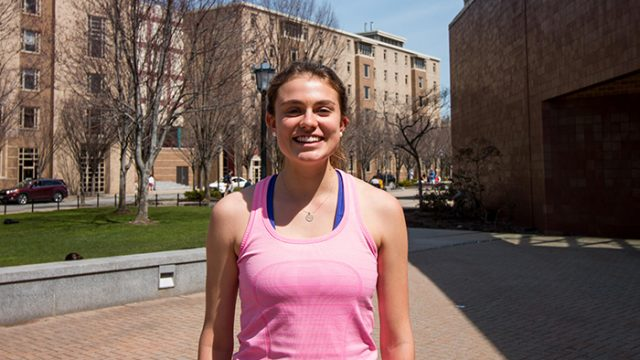 Recovering From Injury, Kathryn Lieder Trains for Marathon