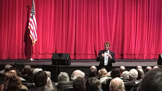 On Sunday, Kennedy Addresses Newton Town Hall