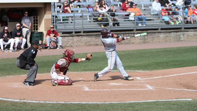 Hokies Blast Seven Home Runs, Sweep BC