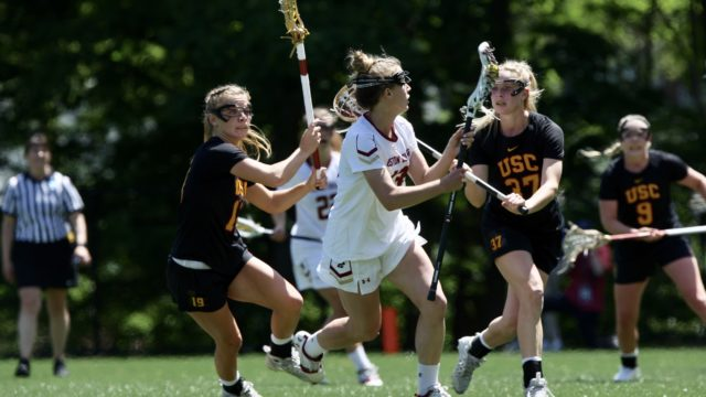 With Win Over No. 7 Southern California, Lacrosse Headed to Final Four