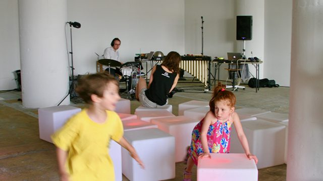 Sound Sculpture Makes the Audible Physical, Turning Adults Into Kids Again