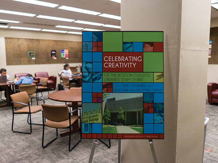 Celebrating Creativity Exhibit Gives a Taste of Library Staff Talents