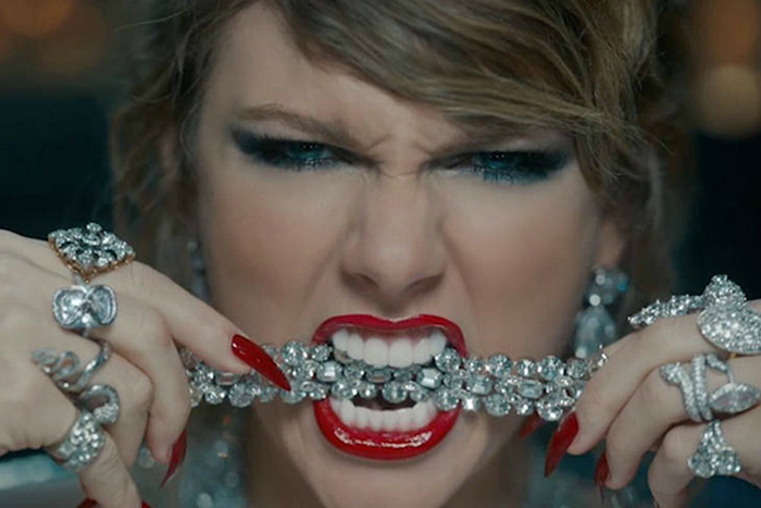 Taylor Swift Jarringly Sheds Preppy Image in 'Look What You Made Me Do'