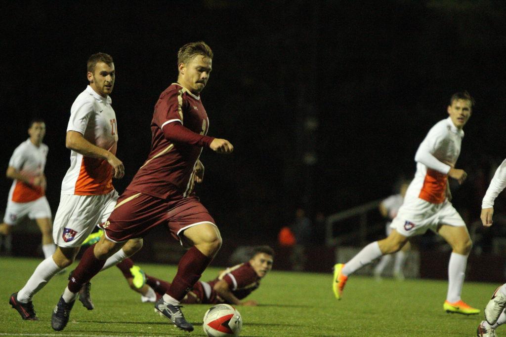 Eagles Dominate Quinnipiac in Season Opener