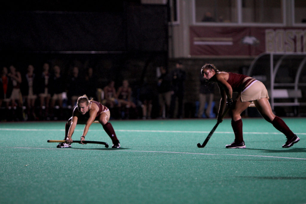 BC Records Eight-Goal Shutout Against UMass Lowell in Scrimmage