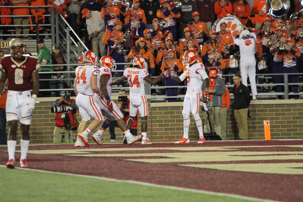 After Shocking Start, BC Collapses in Fourth Quarter Against No. 2 Clemson