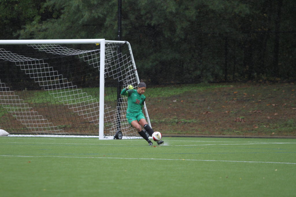 Thanks to Bryant's Six Saves, Eagles Hold BU Scoreless