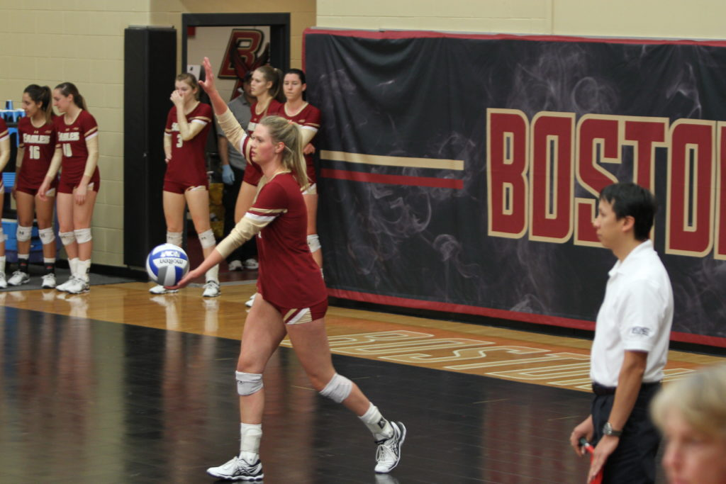 After Loss to Temple, Volleyball Bounces Back Against Delaware