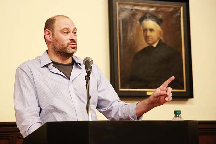 A Conversation With Convocation Speaker Lev Golinkin