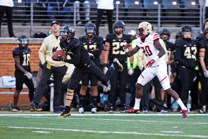 Against Wake Forest, Eagles Need to Convert in Red Zone