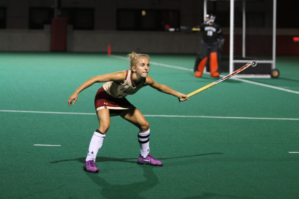 Field Hockey Edges No. 14 Northwestern in Double Overtime