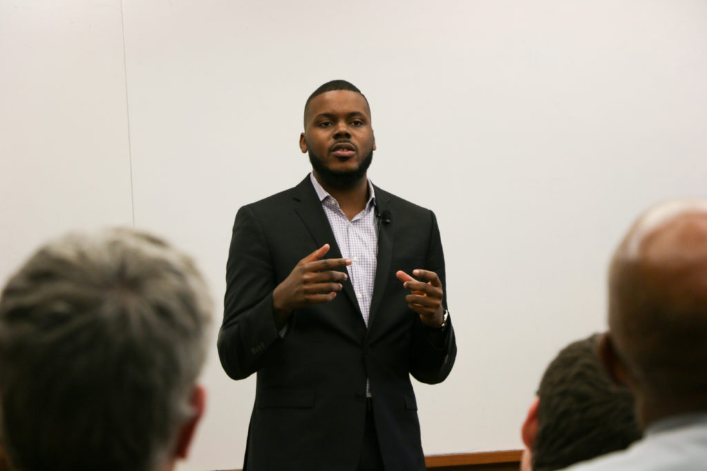 Stockton Mayor Michael Tubbs Discusses Building Community