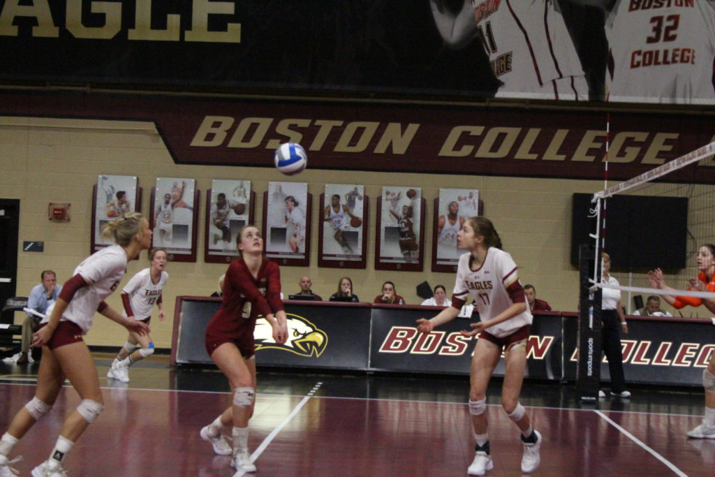 Eagles Defeat Virginia Tech, Fall to Virginia Over the Weekend