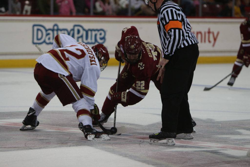 No. 1 Denver Scores Three Power-Play Goals in Rout of BC