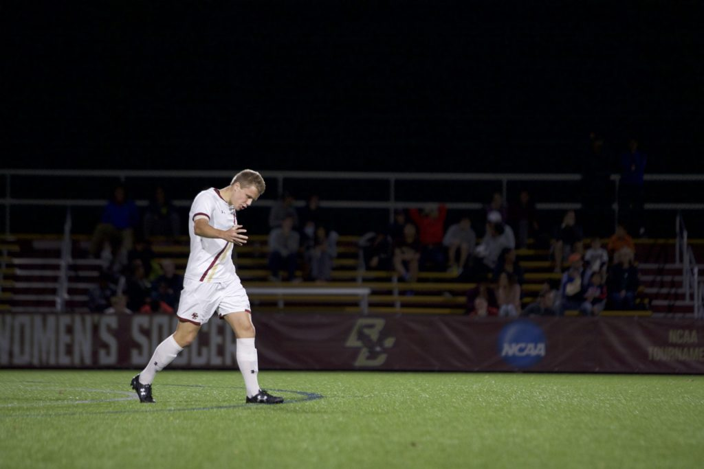 Men's Soccer Battles NC State to Scoreless Draw