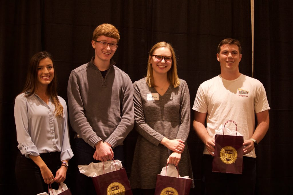 Students Present Business Ideas at Third-Annual Elevator Pitch Competition