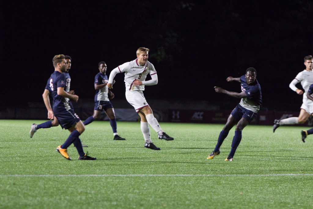 Men's Soccer Completes Wild Comeback Against UConn