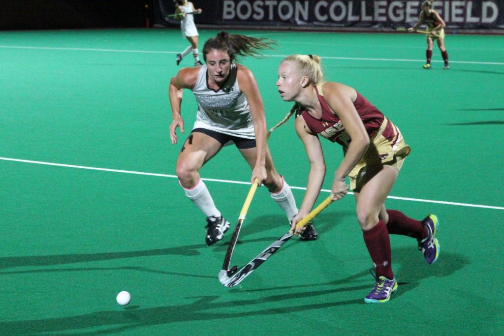 Haverhals Nets Game-Winner Against Northeastern