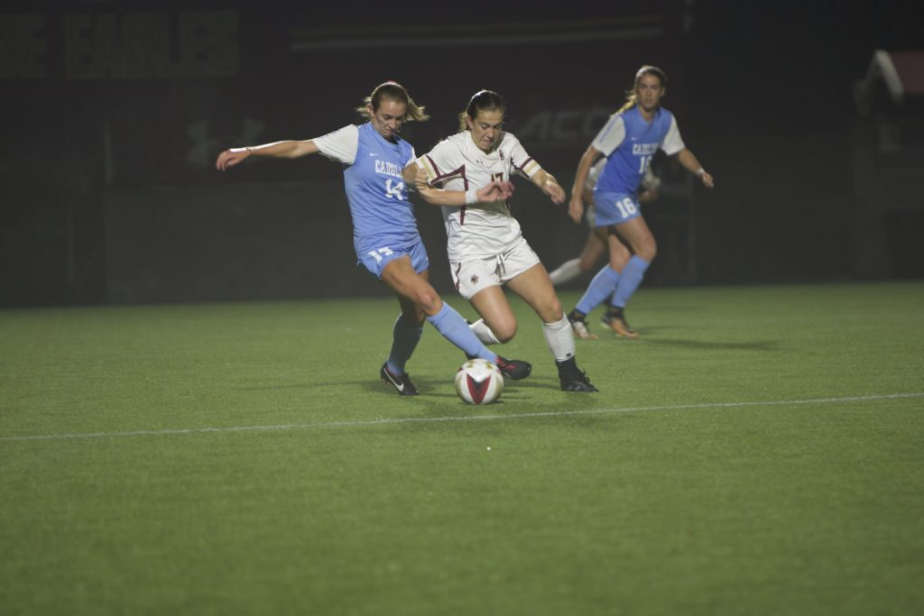 Slow Start Dooms Women's Soccer Versus No. 3 UNC