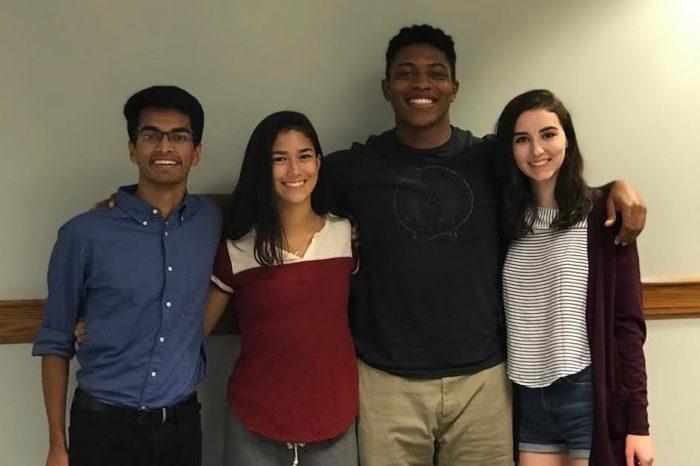 Student Assembly Welcomes Freshman Senators