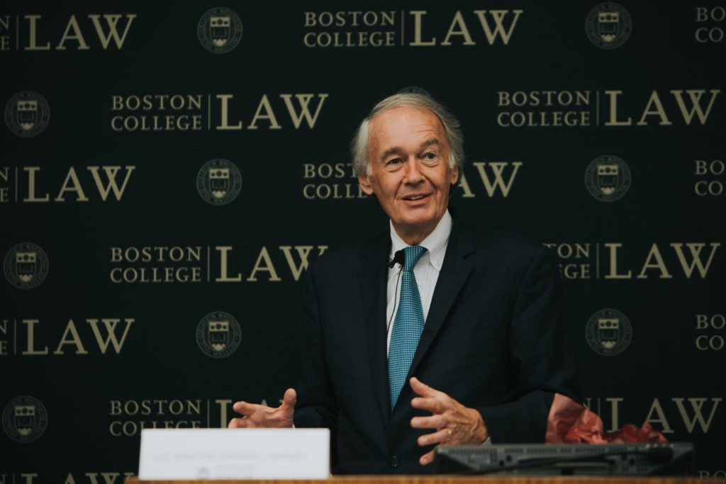 Sen. Ed Markey Discusses DACA, Climate Change, and His BC Days