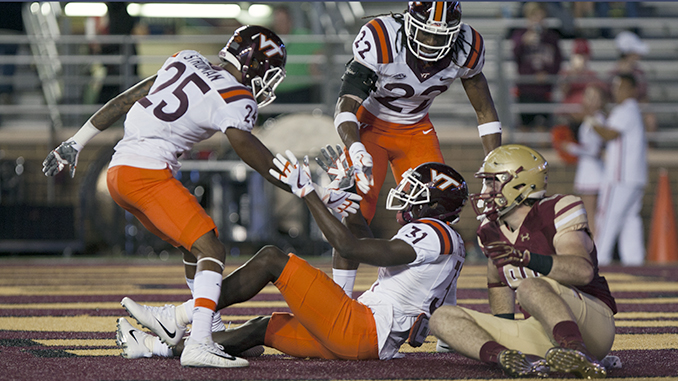 Savoy, Hokies Extend BC's ACC Skid Under the Lights