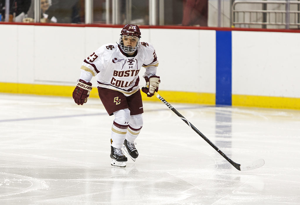 The X Factor: Cayla Barnes Is BC's Missing Piece