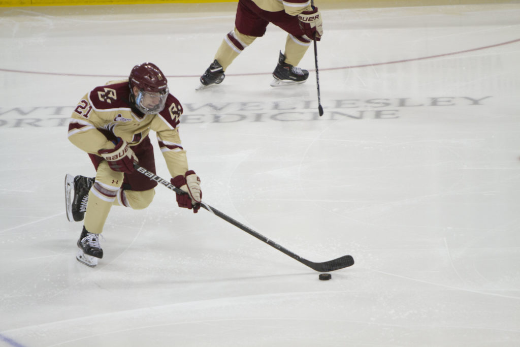 BC Blows Late Lead, Ties Harvard