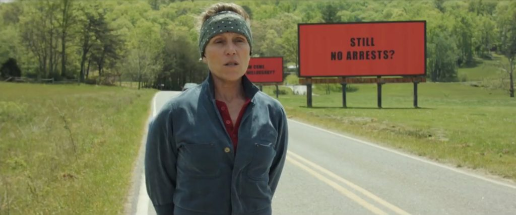 'Three Billboards' Transforms Anger into Hope, Grief into Action