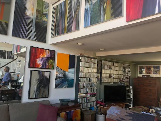 A Peek Inside the Artist's Abode with Fenway Open Studios