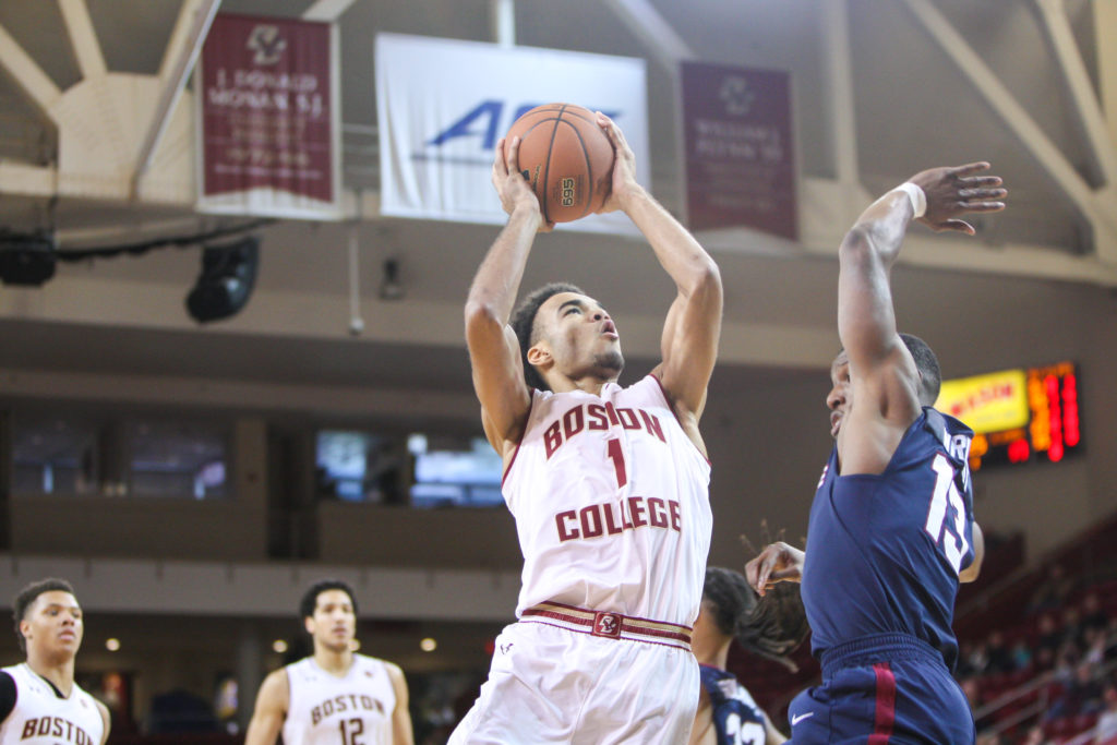 Notebook: Bulldogs No Match for BC's Perimeter Shooting, Interior Size