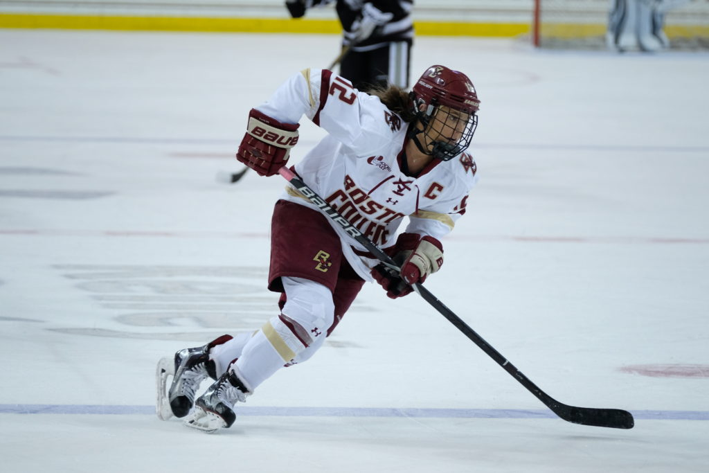 No. 8 St. Lawrence Deals Women's Hockey First Loss of Season