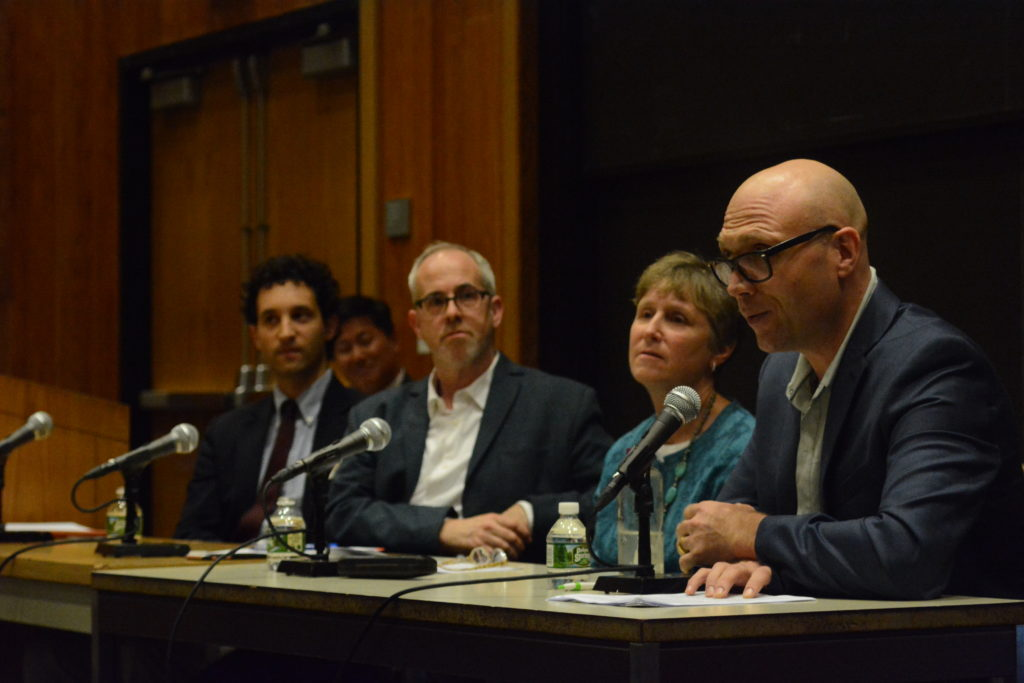 Panel of Faculty Members Speak About Being White in Racially-Charged World