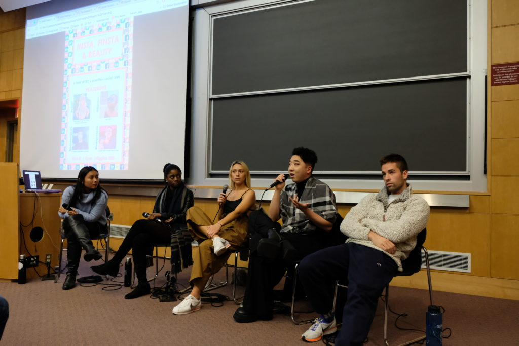Panel of Students Talks Unwritten Rules of Social Media