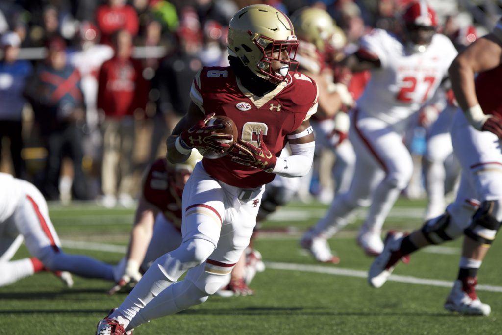 Brown Injured, Football Falls to No. 23 North Carolina State
