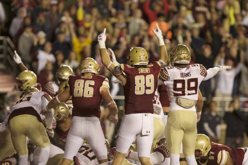 Football Looks to Extend Streak Against NC State