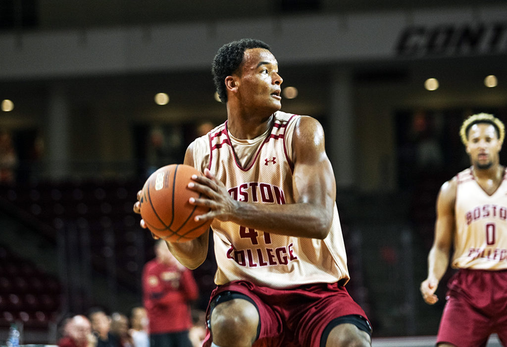 Covering All the Bases: Steffon Mitchell Is BC's Swiss Army Knife