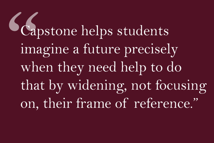 "LTE: In Response to ""Changing the Capstone Program"""