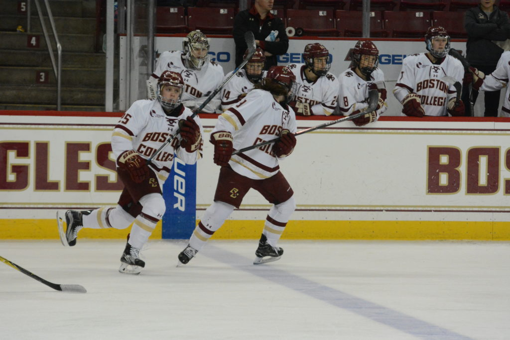 Women's Hockey Stays Undefeated Despite Scare at Syracuse