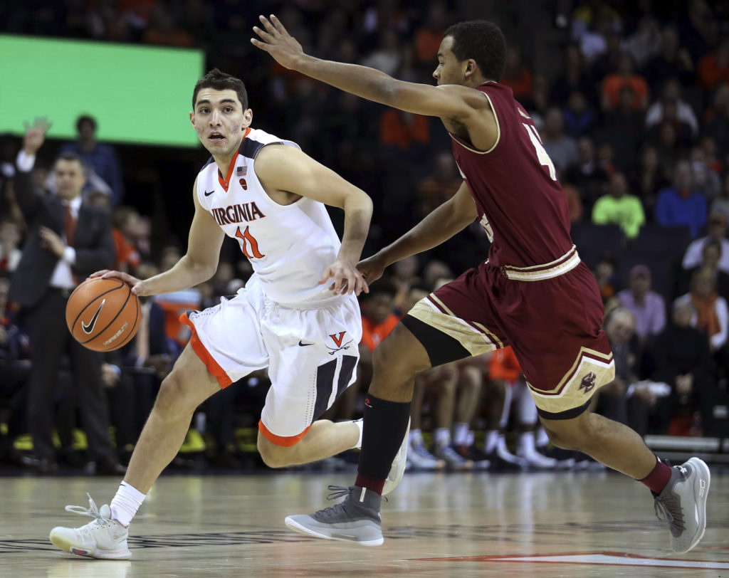 At No. 9 Virginia, Eagles Fall Short of Last-Minute Victory