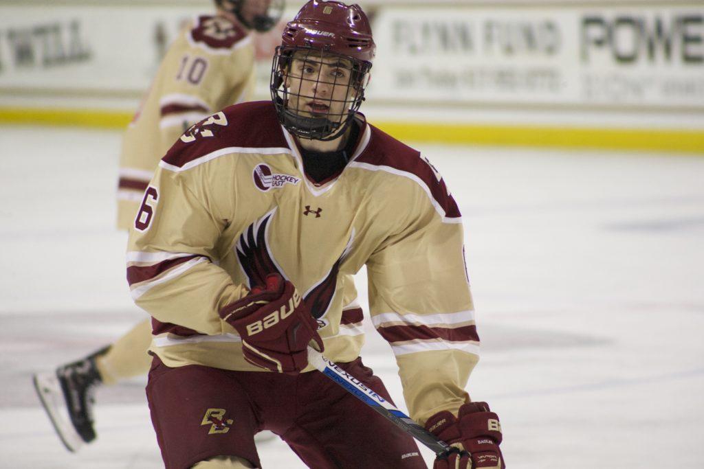 Michael Campoli Leaves Men's Hockey for Juniors