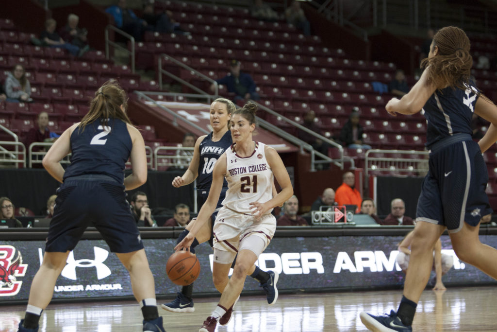BC Rallies to Force Overtime, Defeat New Hampshire