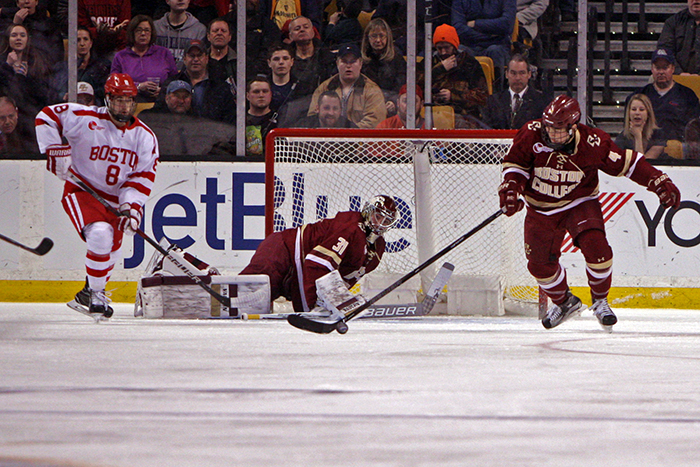 At Agganis, Men's Hockey Gets Revenge Win Over BU